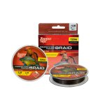 ZSINÓR BENZAR COMPETITION FEEDER BRAID 0,12MM 120M DARK BROWN