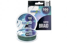 ZSINÓR KAMASAKI SUPER BRAID 100m 0.25mm