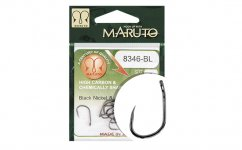 MARUTO HOROG 8346BL T.D.E.10° BARBLESS HC FORGED BLACK NICKEL 12