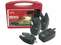 Carp Expert Brenta rádiós kapásjelző szett 3+1