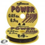 DRENNAN POWER GUM 0,65MM 14LB ZÖLD