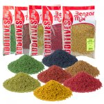 BENZÁR MIKRO PELLET FEEDER 800GR  COLOR CARP MIX
