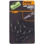 FOX gyorskapocs Edges kwik change swivels sz 7 x 10