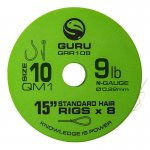 GURU QM1 STANDARD HAIR 15  SIZE 10 (0.19MM) 8DB