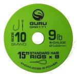 GURU SMWG STANDARD HAIR 15 SIZE 10 (0.22MM) 8DB