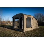 RIDGEMONKEY ESCAPE XF2 COMPACT WITH PLUS PORCH EXTENSION SÁTOR FRONTPANELLEL