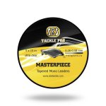 Masterpiece Tapered Mono Leader waterclear 5*15 m