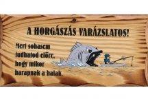 FATÁBLA 'A HORGÁSZÁS VARÁZSLATOS'