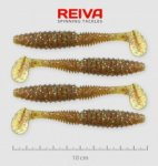 Reiva Zander Power Shad 8cm 5db/cs /Barna-Flitter/ (9901-804)