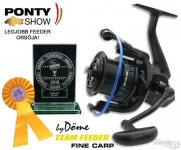 By Döme TEAM FEEDER Fine Carp 6000
