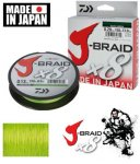Daiwa J-Braid Chartreuse 0,06mm