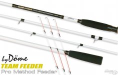 By Döme TEAM FEEDER Pro Method Feeder 360M