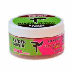 Feedermania  AIR WAFTERS TWO TONE 16 MM RIVER FRANKFURTER AND GARLIC