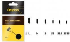 Delphin Stick - Rubber stopper SS