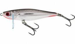 SALMO WOBBLER THRILL TH4-Silver Flashy Fish