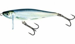 Salmo Thrill, 9cm-Blue Fingerling