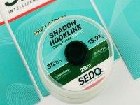 SEDO Shadow Hooklink - Fonott Előke Zsinór - Camo Brown 35lbs - 15.9kg 20m