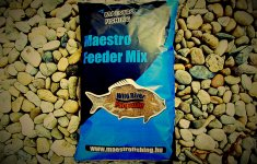 Maestro Fishing Feeder Mix - Wild river parmezán folyóvízi etetőanyag