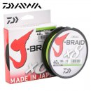 Daiwa J-Braid Chartreuse 0,06mm 150m