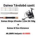 Daiwa Ninja-X Feeder 3.90m 50-150g + Daiwa N'zon Distance 25