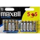 Maxell Lr06 Aa (Ceruza) elem zsugorfóliában 1 db