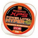 TRABUCCO XPS HYPER STERTCH POWER LATEX 2,4 mm 5m, rakós gumi