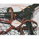 Rapture Aggressor Rubber Net 65*50 1 tagos merítő szák 0,8m