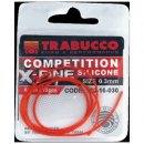 Trabucco Comp. X-Fine Silicone 0.4mm-50cm, szilikon cső