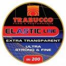 Trabucco Baits Elastic Line 200 M, csalirögzítő gumiszál