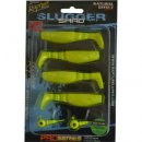 Rapture Slugger Shad Set 75 Neon Yellow 4+2db/csg, műcsali szett