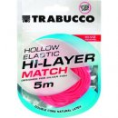 Trabucco Hi-Layer Hollow Elastic Match rakós csőgumi 1,25mm 5m
