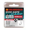 Trabucco Wide Gape Carp szakáll nélküli horog 16 15 db