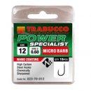 Trabucco Power Specialist mikro szakállas horog 12 15 db