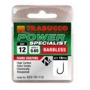 Trabucco Power Specialist szakáll nélküli horog 12 15 db