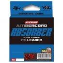 YGK Ambercord Absober Ultra Strong 30 m 0,128 mm (0.6PE) 3,6 lb előkezsinór