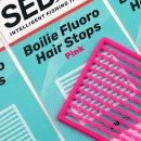 SEDO Boilie Fluoro Hair Stops - Fluoro Rózsaszín