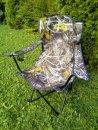 EC karfás, pohártartós, összecsukható szék - terepmintás (EC-739 EC-1202)