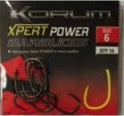 Korum Xpert Power szakáll nélküli horog 10,  10 db