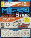 Nm Micro kapocs 6mm 0,3mm S 10db