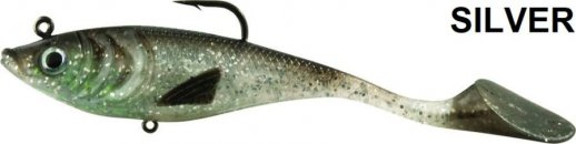 RAPTURE BOTTOM SHAD 80mm 11g SILVER 2db