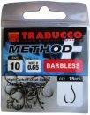 Trabucco Method Plus Feeder szakáll nélküli horog 14, 15 db/csg
