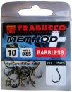 Trabucco Method Plus Feeder szakáll nélküli horog 12, 15 db/csg
