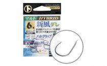 MARUTO HOROG SHIPU GURE MSG-01 HYBRID BLACK NICKEL 1 (13PCS/BAG)
