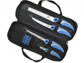CUDA KNIFE SET WITH SHARPENER & CASE (18830/18831/18833/18834)