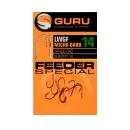 GURU LWGF FEEDER SPECIAL BARBED HOOK 10 10DB