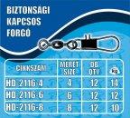 HALDORÁDÓ BIZTONSÁGI KAPCSOS FORGÓ - NAGY (L)