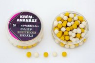 Novák Feeder Carp Method Pop-Up Bojli 10 mm Krém-Ananász