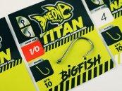 NEON Titan Bigfish - 4/0 horog